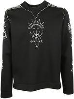 Valentino Black Embroidery Sweater