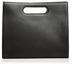 Tammy&Benjamin Tammy & Benjamin Leather Tote with Cutout Handles