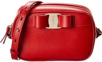 Salvatore Ferragamo Vara Bow Leather Camera Bag