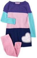 Design History Toddler Girls) Two-Piece Knit Tunic Set