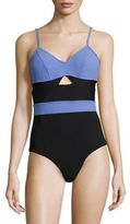 FLAGPOLE Jolleen Colorblock One-Piece Swimsuit