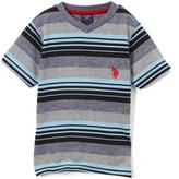 U.S. Polo Assn. Placid Blue Stripe Tee - Boys