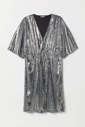 H&M H&M+ Sequined dress