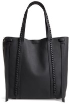 AllSaints Ray Leather Tote - Black