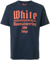 White Mountaineering logo print T-shirt