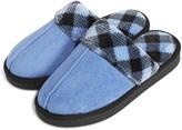 Vera Bradley Light Blue Cozy Slippers