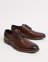 Details about  /Base London Bordo Grundy Washed Lace Up Shoes