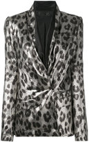Haider Ackermann shawl collar blazer - women - Silk/Polyester/Spandex/Elastane/Rayon - 36
