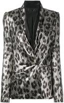 Haider Ackermann shawl collar blazer - women - Silk/Polyester/Spandex/Elastane/Rayon - 38