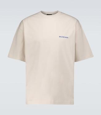 Balenciaga Cotton T-shirt with logo