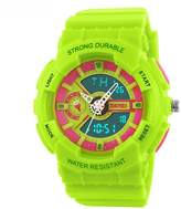 Fanmis Children Boys Girls Sporty Design Multifunctional Analog Digital Waterproof Wrist Watch