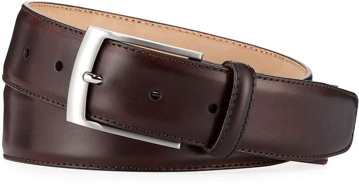Magnanni Men's Talon Leather Belt