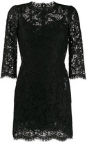 Dolce & Gabbana Lace Short Dress