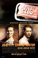 Norton Co. Poster Revolution Fight Club Movie (Edward & Brad Pitt, Credits) Poster Print - 24x36