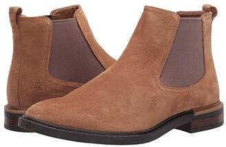 Hush Puppies Davis Chelsea Boot (Chestnut Suede) Men's Boots