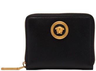 Versace Icon Medusa zip-around wallet