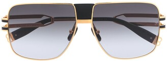 Balmain x Akoni 1914 square sunglasses