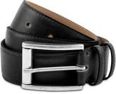 Handmade Vegan Leather Belt In Black