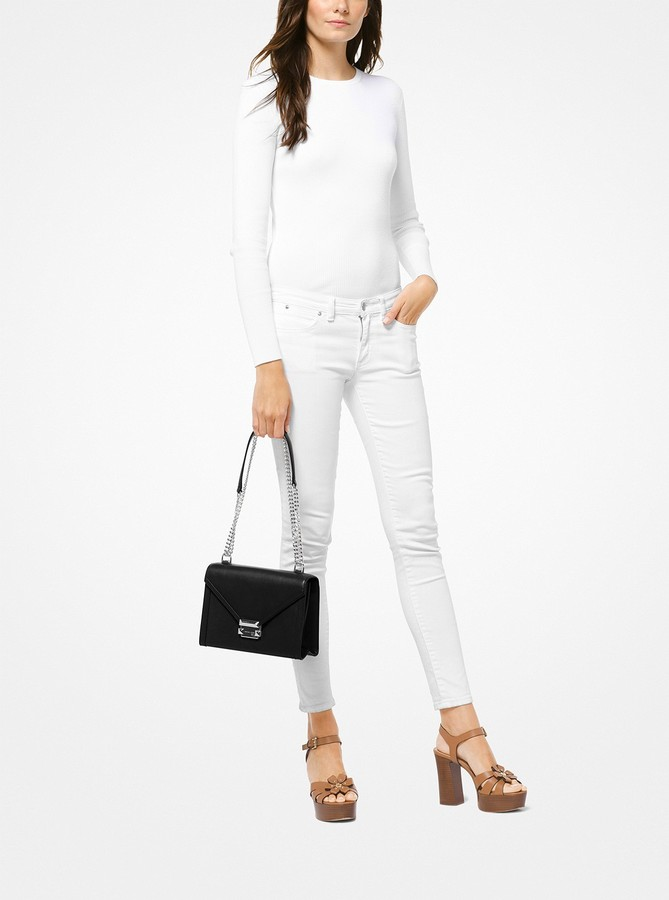 fc7530ff10ee02 MICHAEL Michael Kors Smooth Leather Handbags - ShopStyle