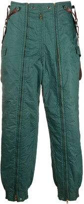 Issey Miyake Pre Owned 1970s Padded Suspender Trousers
