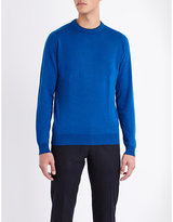 John Smedley Rodney Long-sleeved Cotton Top
