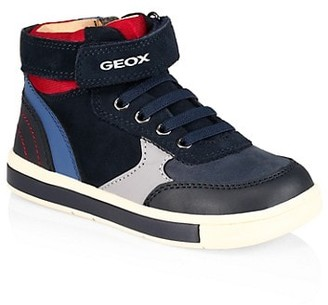 Geox Little Boy's and Boy's Trottola Mid-Top Sneakers