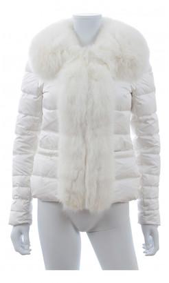 Flavio Castellani White Polyester Coats