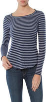 Chaser Striped Long Sleeve Tee