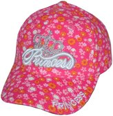 SOSO Girl's Princess Baseball Cap With Flowers