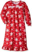 AME Sleepwear Elf on the Shelf Traditional Red Nightgown for girls