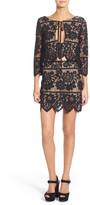 For Love & Lemons Gianna Lace Miniskirt