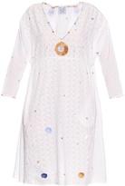 Thierry Colson Pakeza Garden-embroidered cotton dress