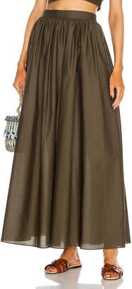 Matteau Full Skirt in Thyme | FWRD
