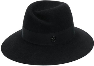 Maison Michel Wide-Brim Felt Hat