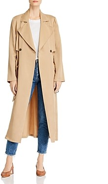 Cupcakes And Cashmere Melody Belted Trench Coat