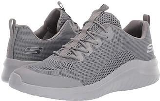 Skechers Ultra Flex 2.0 Kelmar (Black/Gray) Men's Shoes