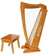 Schoenhut 15 String Harp & Bench