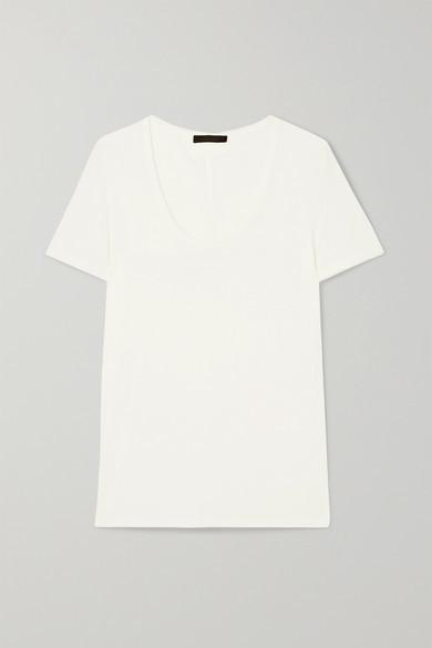 The Row Stilton Jersey T-shirt - Off-white