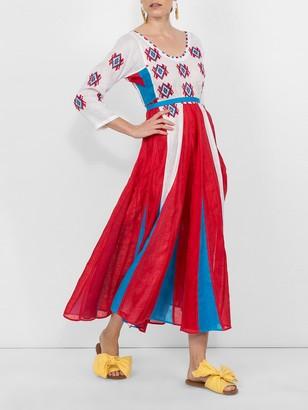 Vita Kin Amber Midi Dress Multicolor