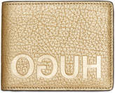 Hugo Boss Men's Gold Bifold Leather Wallet