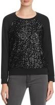 Splendid Sequin Raglan Pullover - 100% Bloomingdale's Exclusive