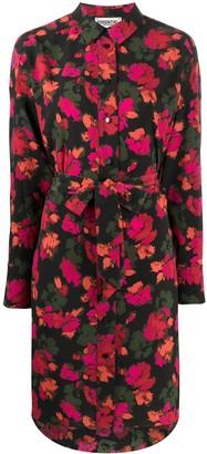Essentiel Antwerp Floral Print Shirt Dress
