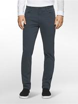 Calvin Klein Slim Straight Sateen Wash Jeans