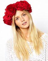 Asos XL Rose Garland Hairband