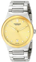Victorinox Women's 241633 Victoria Analog Display Swiss Quartz Silver Watch