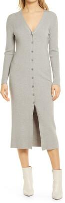 WAYF Petra Cardigan Midi Dress