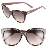 Ted Baker Women's 55Mm Cat Eye Sunglasses - Pink
