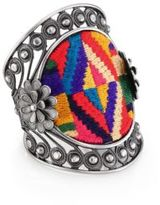 Valentino Native Couture Large Cuff