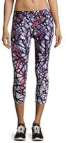 Calvin Klein Printed Pull-On Pants