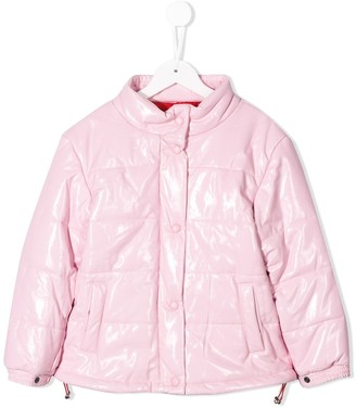 Alberta Ferretti Kids Embroidered Padded Jacket
